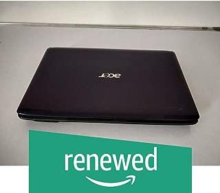 "(Renewed) Acer Aspire 4736 14"" Inch Laptop (Core 2 Duo/2.2Ghz/2/320/Dos/Dvd/No Cam), Black"