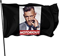 Feng Mei Yan Jiu Banderas Conor Mcgregor Notorious Flag - 3x5 Fly Breeze Feet Durable 100% Polyester Flags (3'X5' Ft Foot)