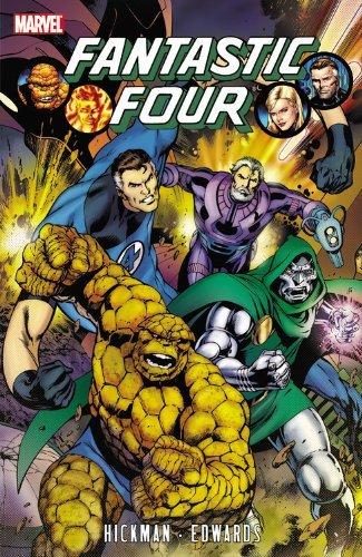 Fantastic Four by Jonathan Hickman - Volume 3 (Fantastic Four (Marvel Paperback)) by Neil Edwards Jonathan Hickman (6-Apr-2011) Paperback