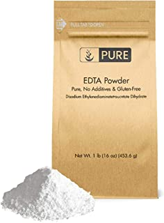 EDTA Disodium Powder (1 lb.) by Pure Organic Ingredients, Food & USP Pharmaceutical Grade