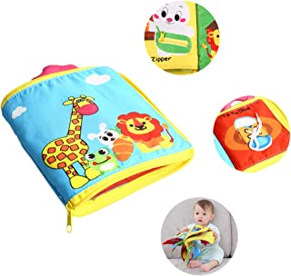 DQTYE Ultra Soft Baby First Cloth Book 3D Libros de