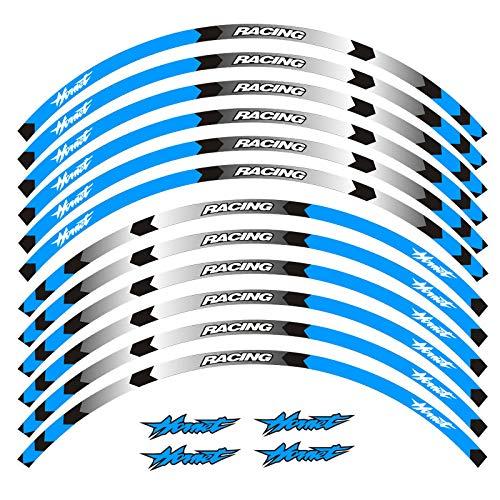 Accesorios de equipamiento de carreras de motocicleta, rueda de neumáticos, decoración adhesiva reflectante, pegatina para frelon Hornet