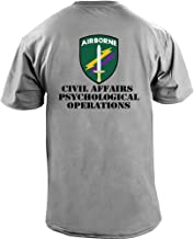 USAMM Army Civil Affairs Psychological Operations Full Color T-Shirt