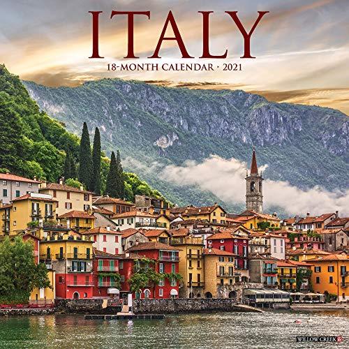 Italy 2021 Wall Calendar