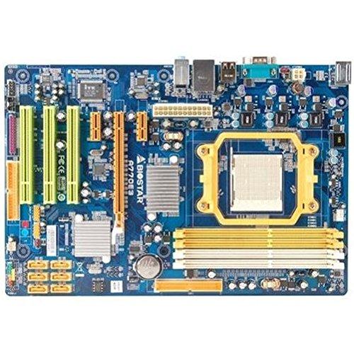 Biostar A770E3 - Placa Base (16 GB, AMD, Athlon II X2, Athlon II X3, Athlon II X4, Phenom II X2, Phenom II X3, Phenom II X4, Sempron, Socket AM3, Gigabit Ethernet, Realtek RTL8111D(L))