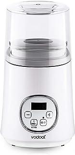 ヨーグルトメーカー Vodool 甘酒 塩麹メーカー 飲むヨーグルト 1L牛乳パックで作れる 無階段温度調整 48時間までタイマー機能 ホームプレミアム
