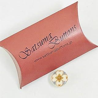 SatsumaButtons(薩摩ボタン)サツマボタン(15mm)単品【花唐草】SBB1-137