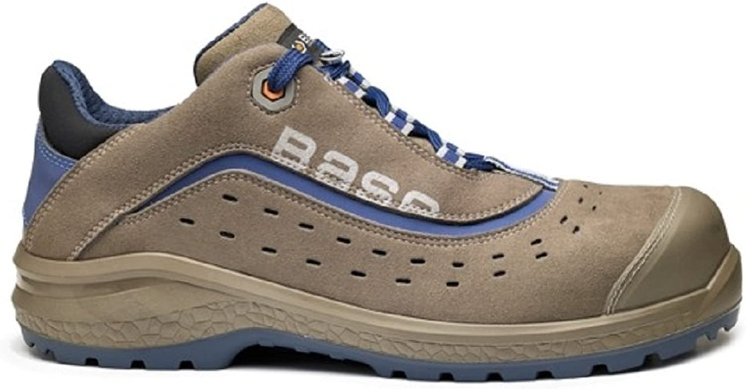 Base BO885 Active S1P Mens Safety Laced Trainer shoes - 45 EU