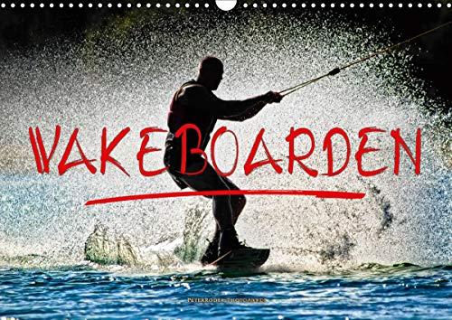 Wakeboarden (Wandkalender 2021 DIN A3 quer)