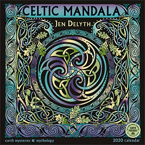Celtic Mandala 2020 Wall Calendar: Earth Mysteries & Mythology