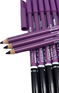 M.n Eyebrow Pencil Black Color set of 12