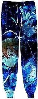 No Pantalones de Chándal para Hombre Señora Pantalón Deportivo Jogger para Aptitud Ejercicio Running Ciclismo Pantalones Anime Largos Sword Art Online, I Style
