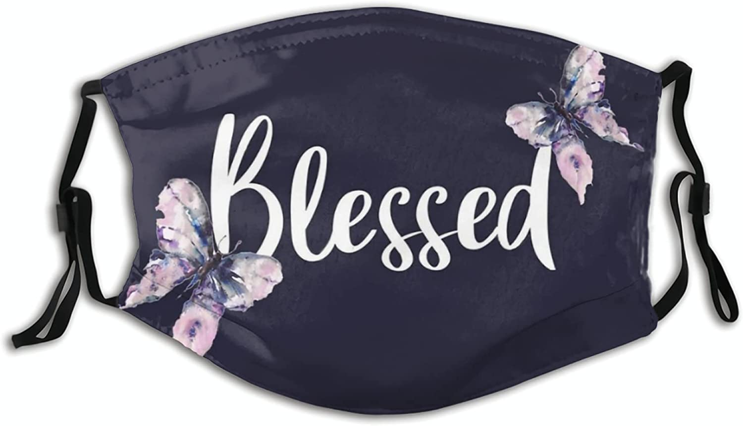 Yeastoy Christian Jesus Blessed Mouth Cover, Washable Balaclava Bandanas for Adult Dust