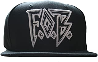 Fall Out Boy Unisex FOB Diamond Snapback One Size Black