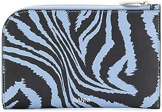 Luxury Fashion | Ganni Womens A2164681 Light Blue Wallet | Spring Summer 20