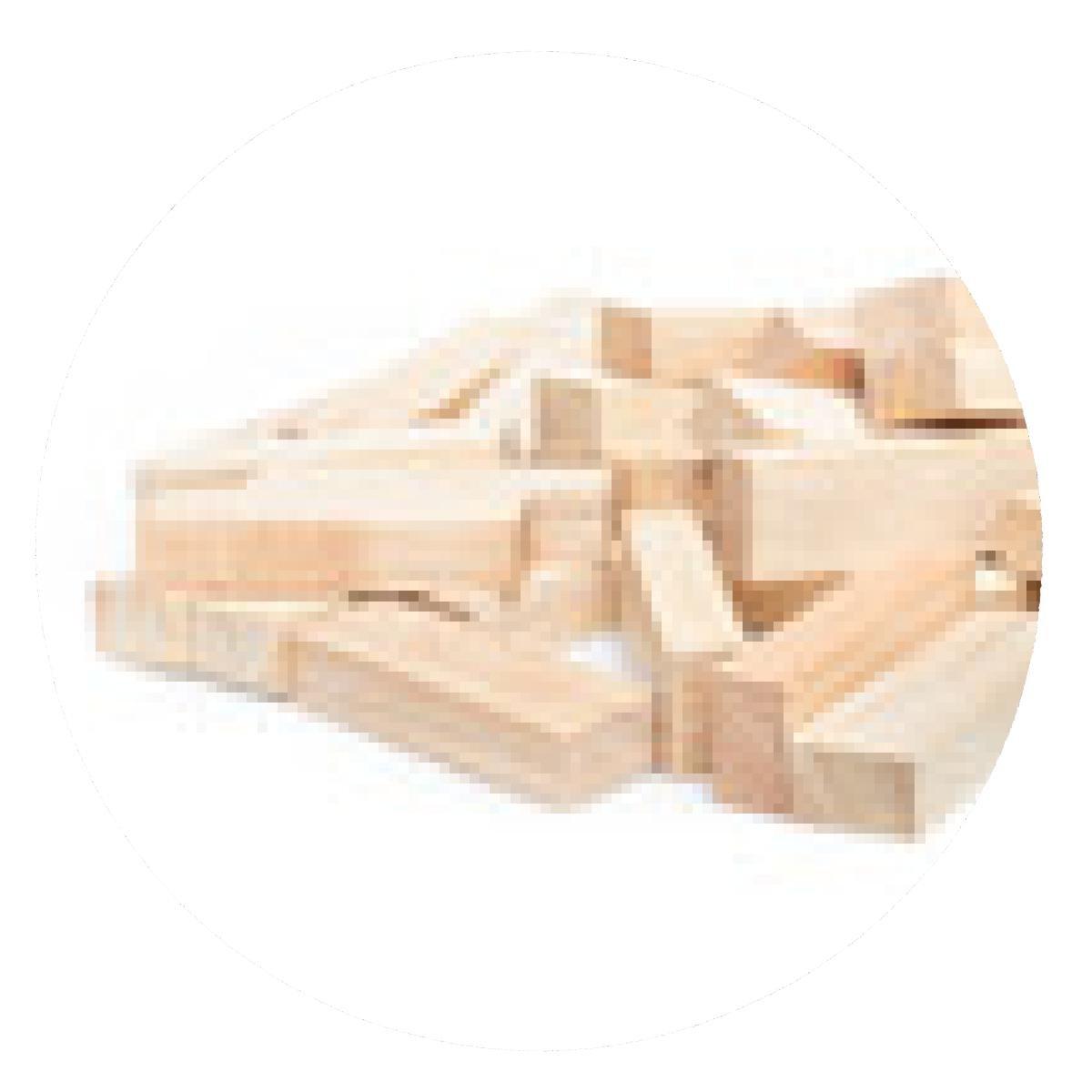 alfombrilla de ratón juego de los bloques de madera (jenga) aislar sobre fondo blanco.: Amazon.es: Electrónica