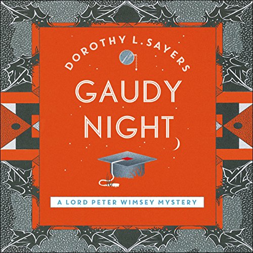 Gaudy Night audiobook cover art