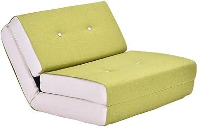 Amazon.com: Sofá cama plegable color gris de espuma ...