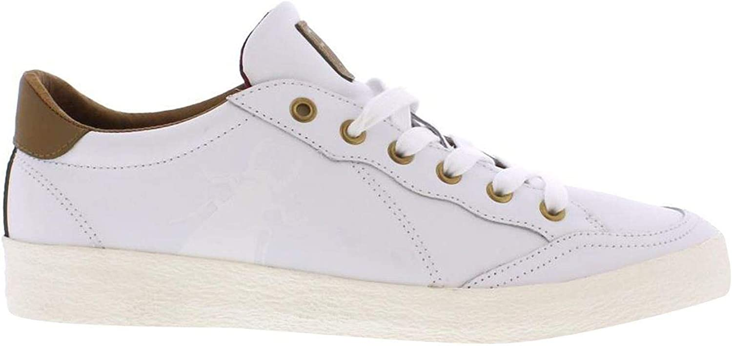 Official Fly London Bato Trainers Mens White Athleisure Footwear shoes Sneakers