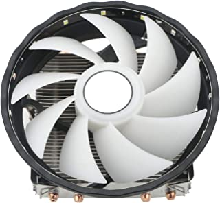 JIUWU 92mm Air CPU Cooler Fan with 4 Continuous Direct Contact Heatpipes for Intel AMD (LGA 775 1150 1155 1151 1156)