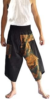 Mens Baggy Yoga Hippie Boho Aladdin Alibaba Harem Pants