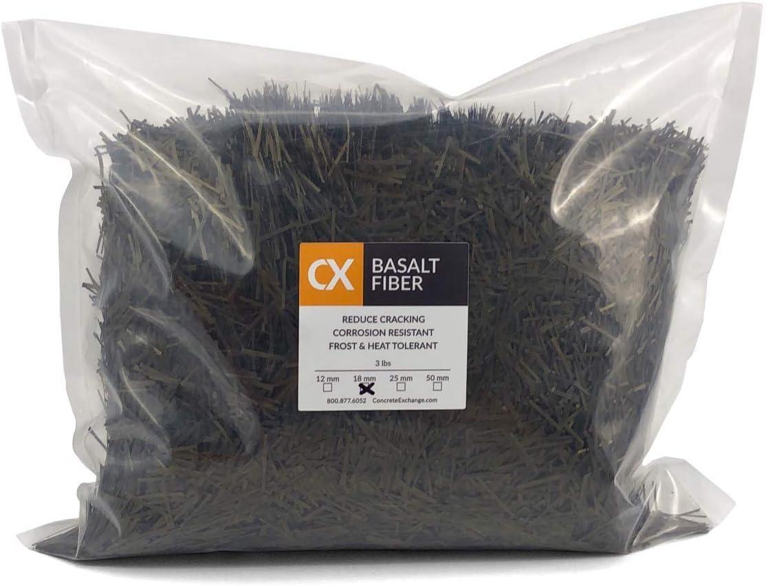 25% OFF CX Chopped Basalt Fiber Concrete Free shipping / New Reinforcement 3 Bag mm 50 Lb
