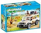 Playmobil Vida Salvaje - Vehículo Safari con Leones, Playset de...