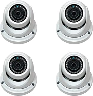 4ct 2MP 1080p Sony HD CVI TVI AHD CCTV  Bullet Cam IP67 DWDR Smart IR BLC HLC
