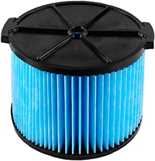 Poweka VF3500 Replacement Filter for Ridgid Wet Dry Shop Vac 3-Layer Filters Fit WD4050 WD4070 WD4522 Vacuum Replace Ridgid VF3500 Filter
