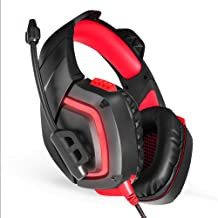 HUIGE Gaming Headset, Headphone with Mic for Playstation 4 PS4 PC iOS iPad Phone Noise Cancelling