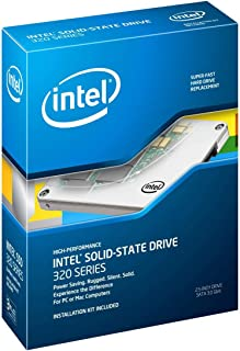 Intel 320 Series 80 GB SATA 3.0 Gb-s 2.5-Inch Solid-State Drive Retail Box