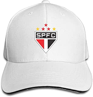 RT-YQQO Sao Paulo Soccer Club Unisex Adjustable Sandwich Hat Sandwich Baseball Cap