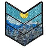 O'Houlihans - Mountain Wilderness Chevron Morale Patch - Iron on Patch