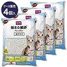 【ケース販売】固まる紙砂 ホワイト 14.5L×4 4個入