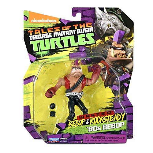 Teenage Mutant Ninja Turtles Bebop in 80's Outfit Action Figure