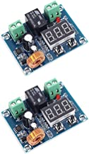 Onyehn 2pcs DC 12V-36V Voltage Protection Module Digital Low Voltage Protector Disconnect Switch Over Discharge Protection Module Output 6-60V