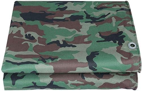 MSF Baches Baches de Camouflage Robustes   Bache de Prougeection Polyvalente, abri de Tente, bache de Camping, bache de remorque au Sol   dans de Nombreuses Tailles, 400g   m2 (Taille   3m×4m)