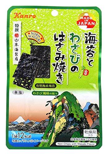 カンロ 海苔とわさびのはさみ焼き 4.0g×6袋