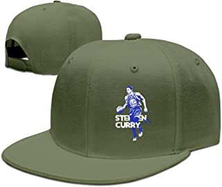 YQUE Adult 30# Basketball Player Stephen SC Curry Trucker Hats Caps ForestGreen
