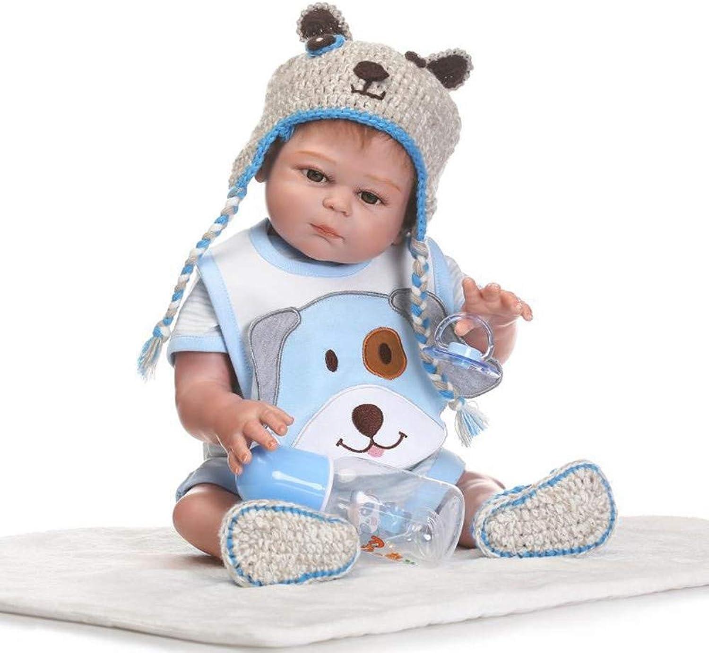 ALIKEEY Educational Toys for Kids, Lifelike Reborn Baby Doll 50cm Newborn Doll Kids Girl Playmate Birthday Gift