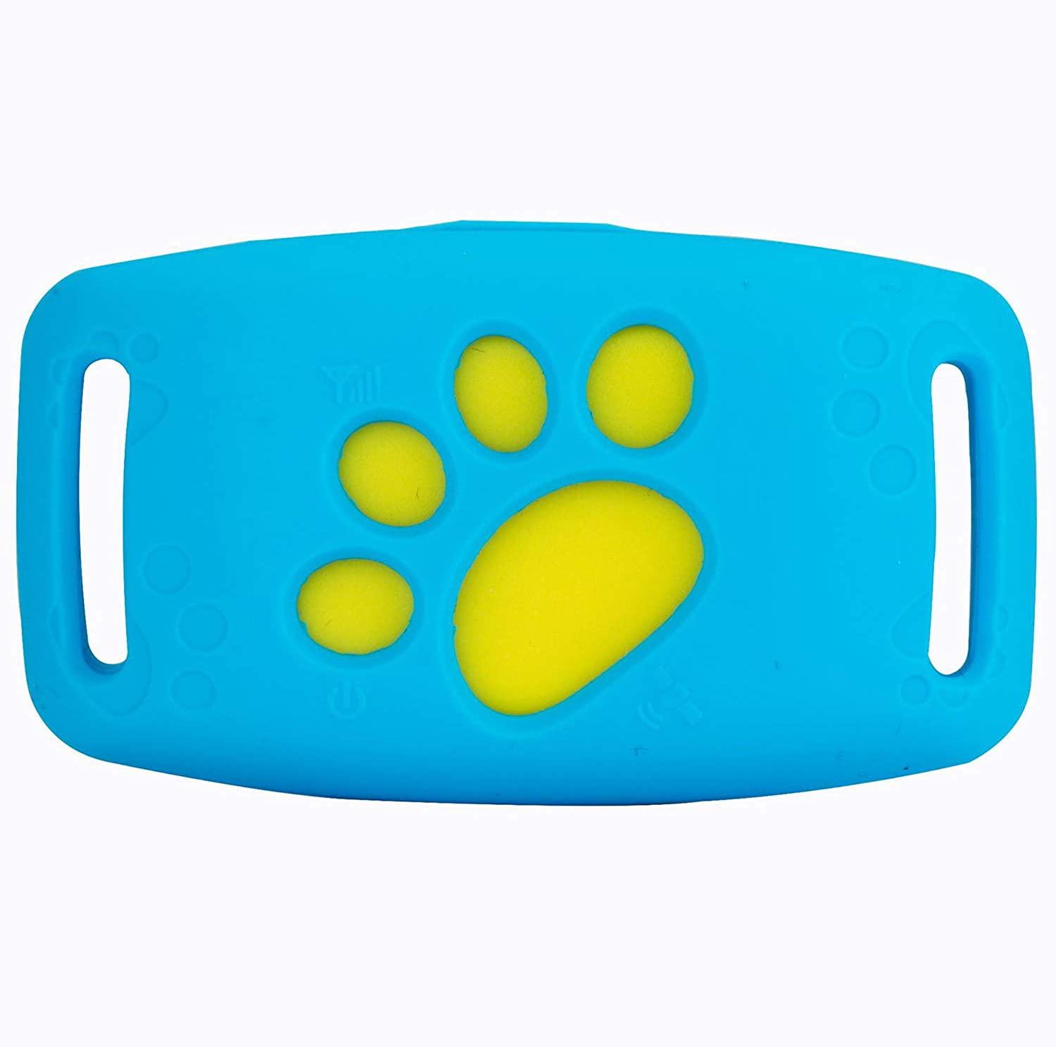 Dog GPS Tracker, Rechargeable, Safety Fence, Smart blueetooth, Remote Listening, Callback, Free Monthly Fee, Help Find And Keep Dog Cat Safe,bluee