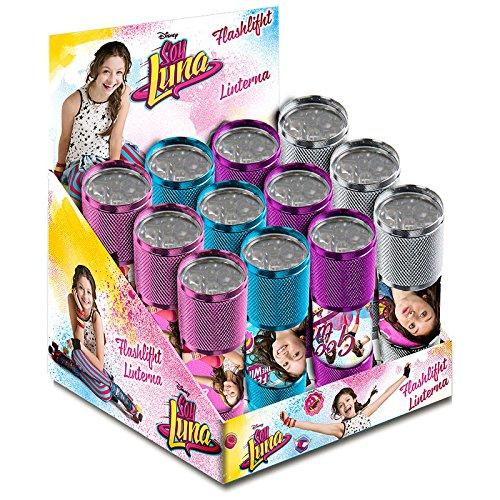 Ich Bin Luna Luna–Taschenlampe mit LED (Kids Euroswan kd-wd18032), UNICA (Kids Euroswan wd18032)