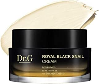 DR.G Royal BLACK SNAIL CREAM 2019 NEW Version 50ml/ 1.69 fl.oz. with Eye Cream Included- Black Snail Elasticity,Wrinkle Improvement, Anti-aging Care Cream (Two Packs)
