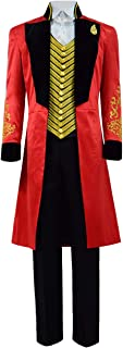 Kids Boys PT Barnum Tailcoat Cosplay Outfit Performance Uniform Showman Party Suit Costume for Halloween Children