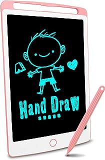 Richgv Lcd-schrijftablet, 10 Inch Heldere Kleurrijke Elektronische Tekentafel Grafische Tablets Met Geheugenslot, Handschr...