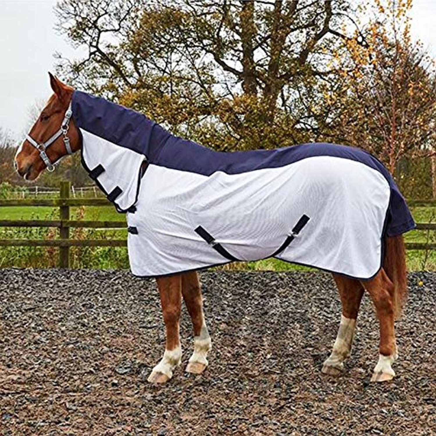 Elico Ingleton Rain Fly Horse Rug Summer Sheet  for those Showery Warm Summer days Equine (6ft9)