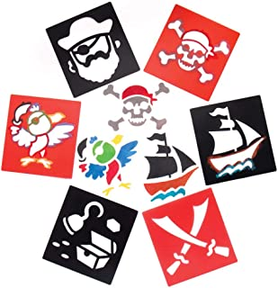 Best pirate skull stencil Reviews