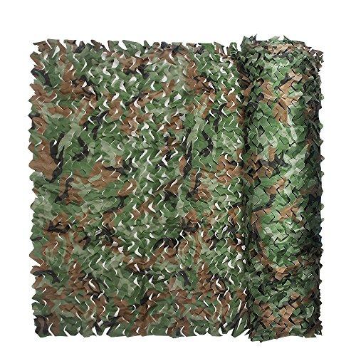XUE Red Camuflaje Malla Militar para Sombra Caza Jardin Coche Arena Ejercito Fotografia Patio Terraza Toldo 1,5x2M 1,5x7M 1,5x10M