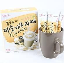 DAMTUH Instant Roast Grain Latte, Meal Replacement Instant Breakfast, Misugaru Latte, 12 Sticks