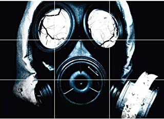 Doppelganger33LTD BLACK GAS MASK HORROR GOTHIC NEW GIANT POSTER WALL ART UNIQUE PRINT PICTURE G111